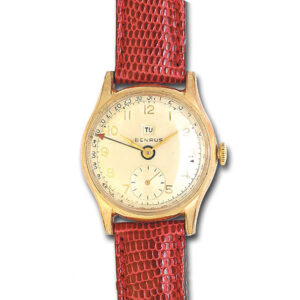 Benrus Classic gold fill mm  watch