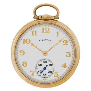 Illinois pocket watch 10k 43.2mm Manual watch