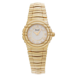 Piaget Tanagra 16031m401d 18k Cream dial 25mm Quartz watch