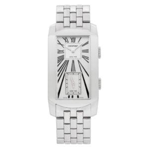 Chopard Dual Time 162274-1001 18k White Gold Bracelet 29mm Automatic Watch