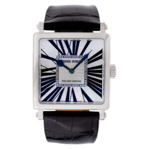 Roger Dubuis Golden Square DBGS0322 18k white gold 37mm auto watch