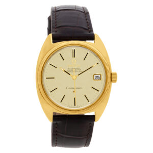 Omega Constellation 14k 34.5mm auto watch