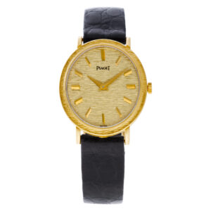 Piaget Oval 9821 18k 17mm Manual watch