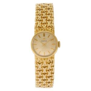 Omega 7173 18k 17mm Quartz watch