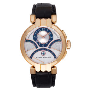 Harry Winston Premiere PREACT39RR002 18k rose gold 39mm auto watch