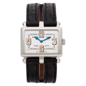 Roger Dubuis Too Much T22180 18k White Gold Silver dial 30mm Quartz watch
