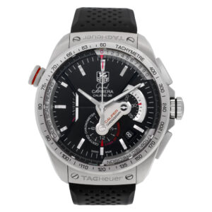 Tag Heuer Carrera CAV5115.FT6019 Stainless Steel Black dial 43mm Automatic watch