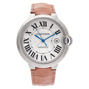 Cartier Ballon Bleu W6901351 18k White Gold Silver dial 42mm Automatic watch