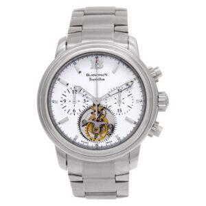 Blancpain Leman Tourbillon 18k White Gold 38mm Automatic watch