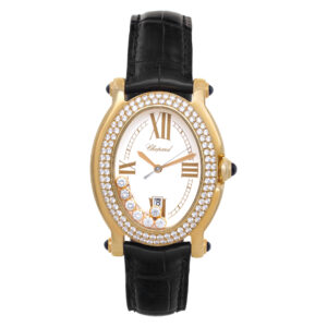 Chopard Happy Sport 27/7012-23 18k Cream dial 32mm Quartz watch