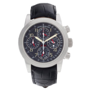 Girard Perregaux Ferrari 9025 Platinum Black dial 40mm Automatic watch