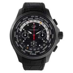 Girard Perregaux Traveller 49700-21-631 BB6C Titanium Black dial 44mm Automatic