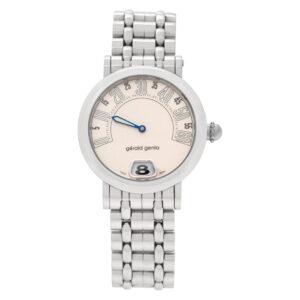 Gerald Genta Retro Classic G.3624 Stainless Steel Beige dial 27mm Quartz watch