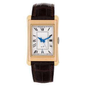 Bedat & Co. NO 7 718 18k white & yellow gold 25.5mm auto watch