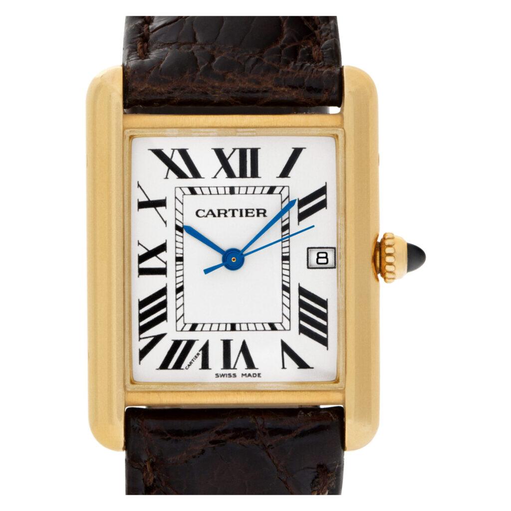 Cartier Tank Louis Cartier W1529756 18k 25.5mm Quartz watch