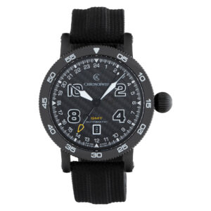 Chronoswiss Timemaster GMT CH2535 Stainless Steel Black DLC 44mm Automatic