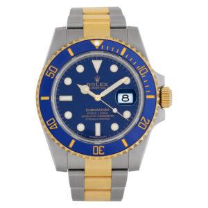 Rolex Submariner 116613 18k & steel 40mm auto watch