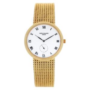 Patek Philippe Calatrava 3919/5 18k    White dial 33mm Manual watch