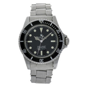 """Rolex Submariner """"Mark I"""" 5512 Stainless Steel Black dial 40mm Automatic watch"""