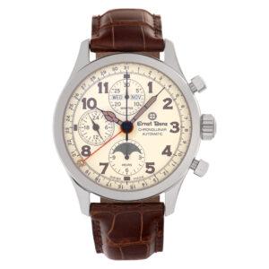 Ernst Benz Chronolunar 20300 stainless steel 40mm auto watch