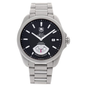 Tag Heuer Grand Carrera WAV511A stainless steel 40mm auto watch
