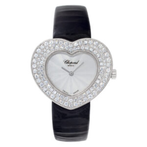 Chopard Heart 5631 18k White Gold Mother of Pearl dial 32mm Quartz watch