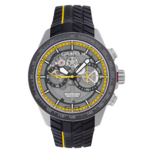 Graham Skeleton 2STAC.B14A stainless steel 48mm auto watch