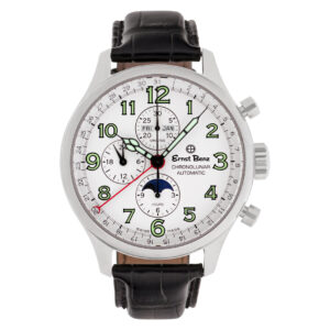 Ernst Benz Chronolunar 10300 stainless steel 47mm auto watch