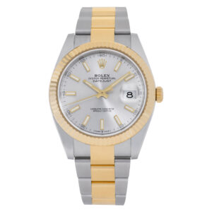Rolex Datejust 41 126333 18k & Stainless Steel Silver dial 41mm Automatic watch