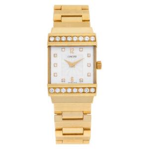 Concord Crystale 51-c1-1431 18k 21mm Quartz watch