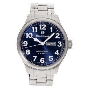 Ernst Benz Chronosport 10200 stainless steel 47mm auto watch