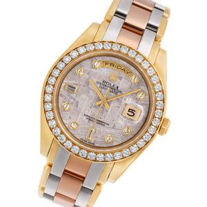 Rolex Masterpiece 18948 18k 40mm auto watch