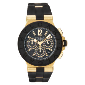 Bvlgari Diagono DG42BGVDCH 18k Black dial 42mm Automatic watch