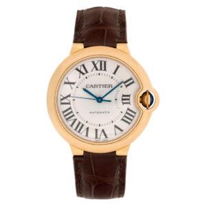 Cartier Ballon Bleu W6900456 18k rose gold mm auto watch