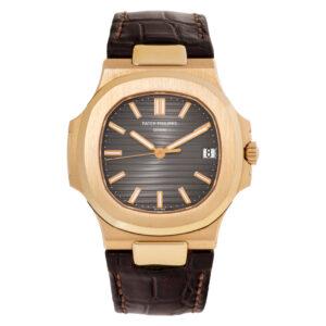 Patek Philippe Nautilus 5711r-001 18k rose gold 41mm auto watch