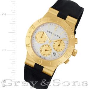 Bvlgari CH 35 G 18k 35mm Quartz watch
