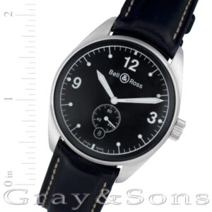 Bell & Ross Vintage 123 BR 123 stainless steel 38mm auto watch