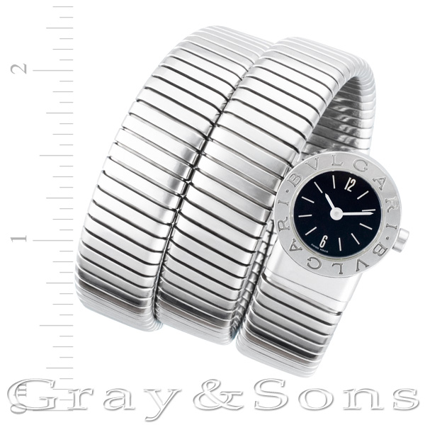 Bvlgari Tubogas bb191ts stainless steel 19mm Quartz watch