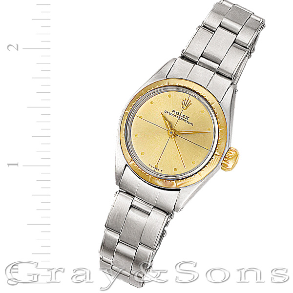 Rolex Oyster Perpetual 6621 stainless steel 24mm auto watch