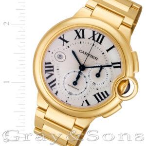 Cartier Ballon Bleu w6920008 18k 46.8mm auto watch