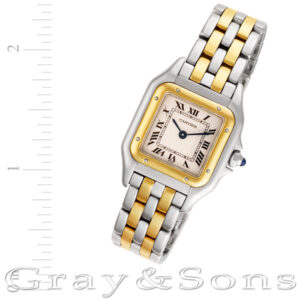 Cartier Panthere 18k & steel 22mm Quartz watch