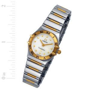 Omega Constellation 7951243 18k & steel 22mm Quartz watch