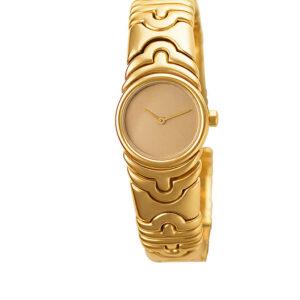 Bvlgari Parentesi BJ 01 18k 20mm Quartz watch