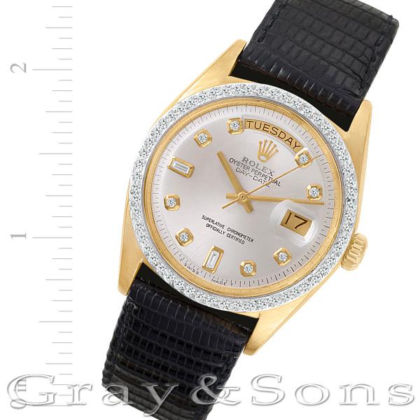Rolex Day-Date 1807 18k 36mm auto watch