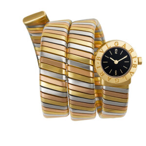 Bvlgari Tubogas BB 19 iT 18k 19mm Quartz watch