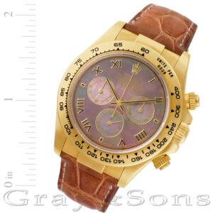 Rolex Daytona 116518 18k 40mm auto watch
