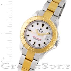 Rolex Yacht-Master 68623 18k & steel 34mm auto watch
