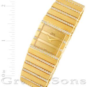 Piaget Polo 7131 c701 18k 25mm Quartz watch