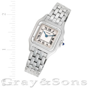 Cartier Panthere stainless steel 22mm Quartz watch