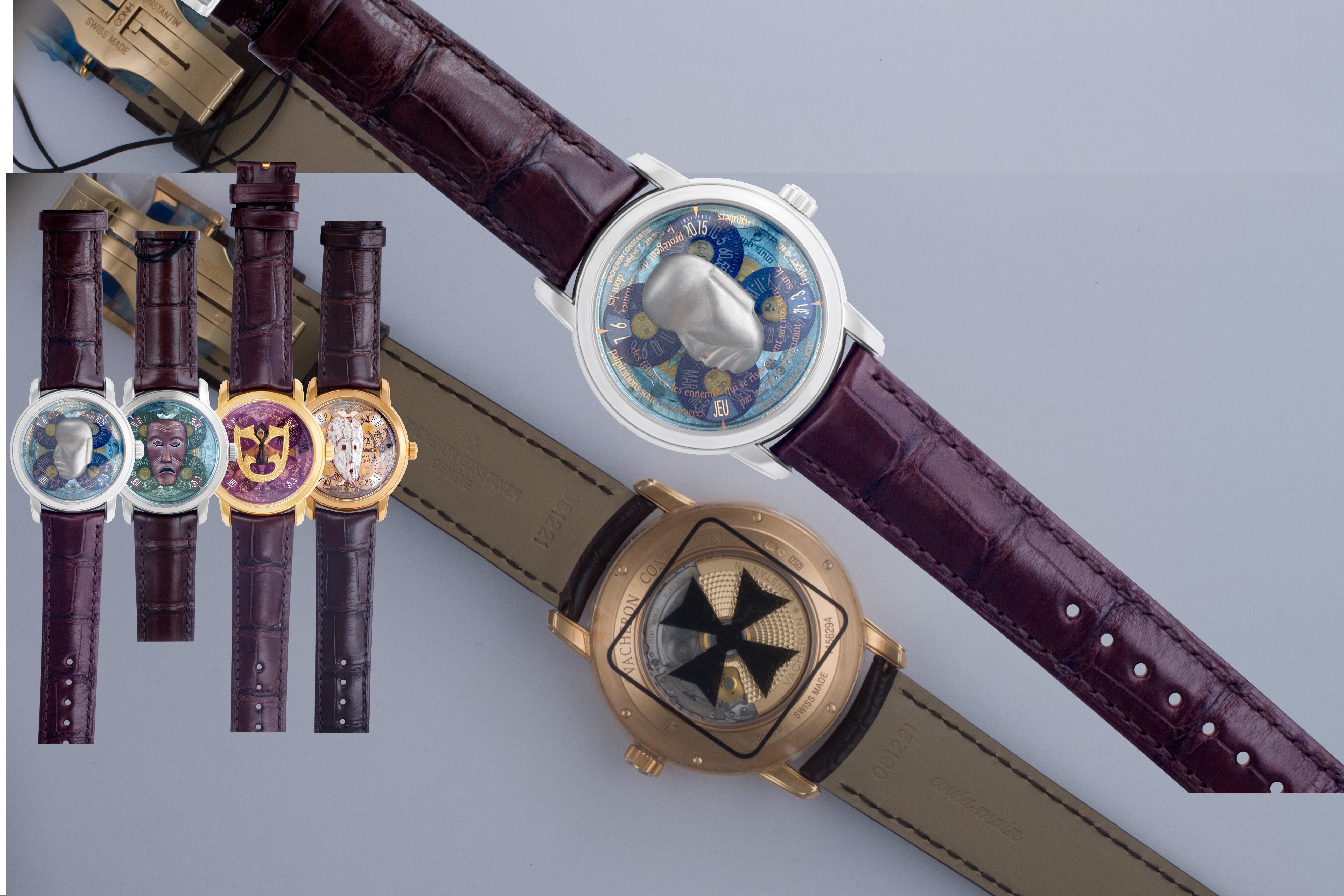 Vacheron Constantin Les Masques 86070/000 gold 39mm auto watch